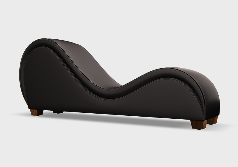 Tantra chair - Ebony with no nailheads