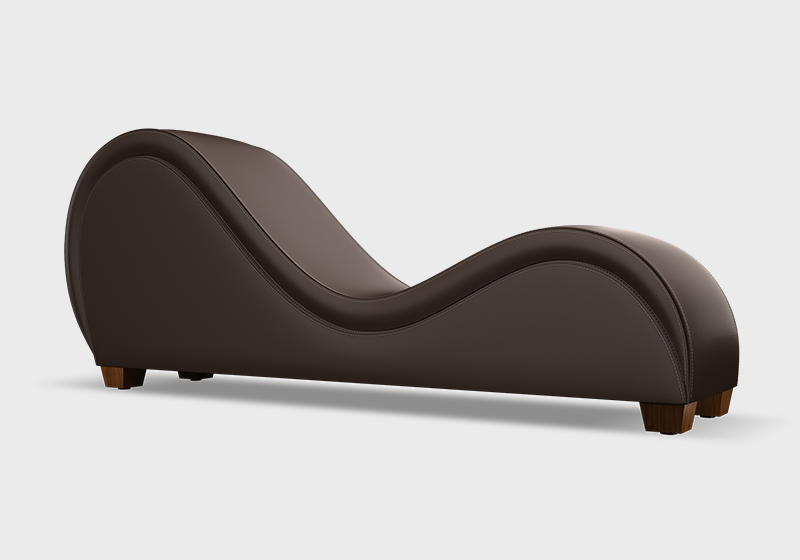 Tantra chair - Espresso with no nailheads